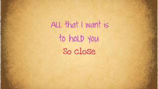 So Close - Jon Mclaughlin (Lyrics)