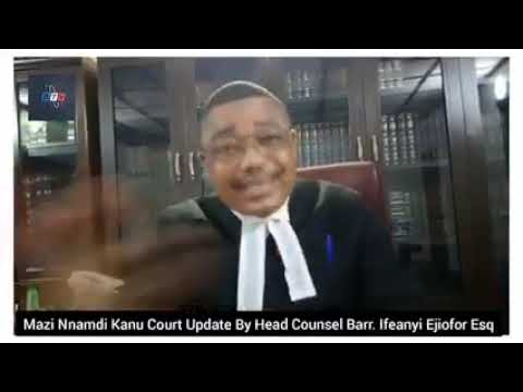 Ifeanyi Ejiofor's Update On Nnamdi Kanu's Court Case (Video)