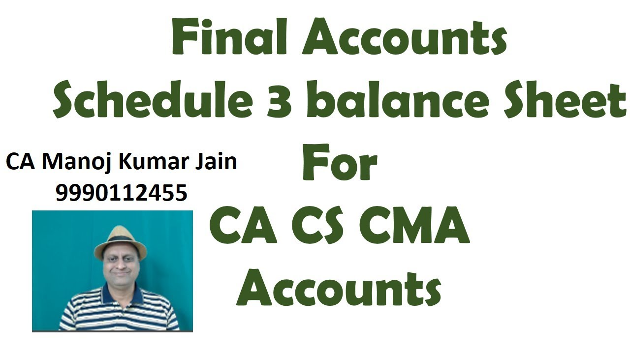 new balance sheet format as per schedule vi in pdf