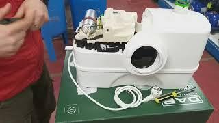 лучше один раз увидеть    Обзор канализационной установки на примере DAB GENIX 130