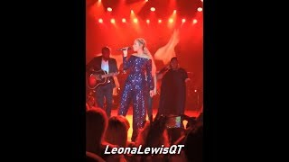 Leona Lewis - Fire under my feet + Better in time - live at GHPC, Austria 2019