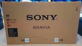Unbox LED SONY รุ่น KD-55X7000G (New2019)