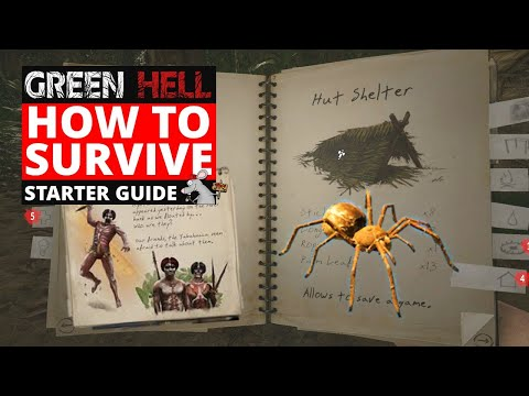 GREEN HELL HOW TO SURVIVE THE NIGHT - Starter Tips! Best Start! Story Mode