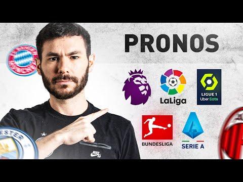 ⚽️ PRONOS DES 5 GRANDS CHAMPIONNATS !