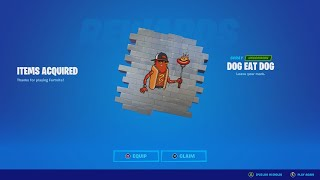 """How To Get The FREE """"Dog Eat Dog"""" Spray In Fortnite! (Free Spray Code)"""