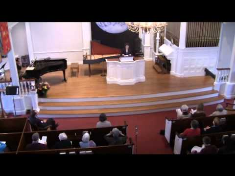 "First Parish of Bedford, MA, UU / Sunday Service / 3-30-2014 / ""Honoring the Earth"""