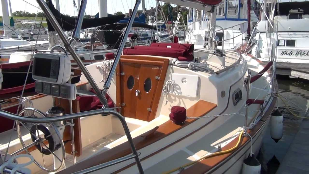 SOLD Island Packet 27 Crosswinds Sailboat For Sale At Little Yacht Sales Kemah Texas YouTube