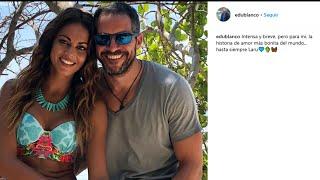 Edu Blanco se despide de su relación con Lara Álvarez