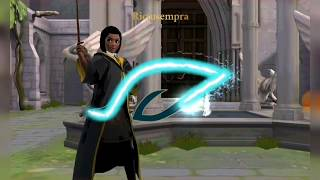 Duel Practice with Rowan (Harry Potter:Hogwarts Mystery)