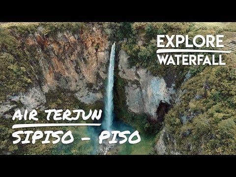 Info singkat Jelajah Air Terjun Sipiso-Piso Waterfall Sumatera dan Pantai Lhoknga, Aceh