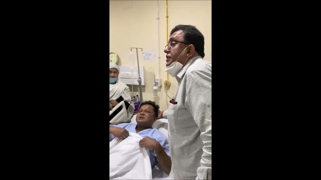 Download Affected by BJP goons Lok Sabha candidate Mamun Khan admitted at ILS Hospital