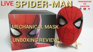 Spider-Man Mechanical Mask Home Coming Unboxing Review (Cattoys)