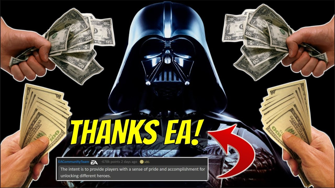 A Sense of Pride and Accomplishment [Star Wars: Battlefront II - EA Controversy] - YouTube