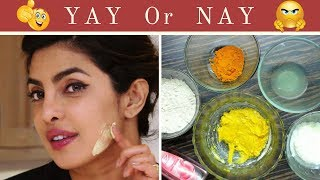 OMG Shocking!! I tried Priyanka Chopra's Guide to Skincare | Ubtan Face Mask | And This Happened