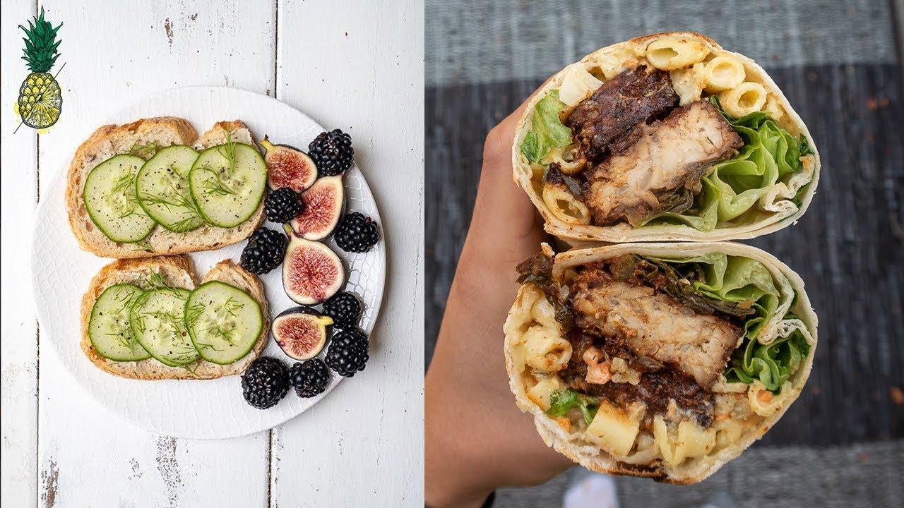 What We Ate & Did Today + Vegan Caesar Salad