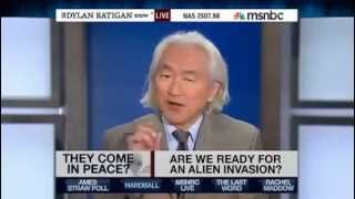 PROJECT BLUE BEAM deception!NWO spawn of Satan Michio Kaku Hyping Alien Invasion
