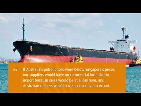 The Singapore Benchmark: how Australia prices fuel - Bulk
