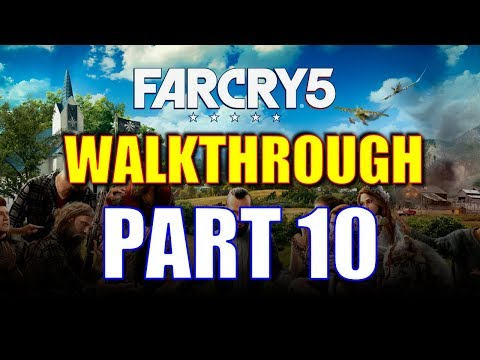 Far Cry 5 Walkthrough Part 10 - Deep North Irrigation Prepper Stash + Some Loose Ends