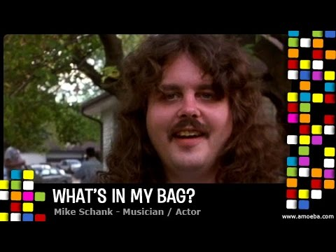 Mike  Schank  What's In My Bag?