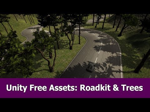 Unity Free Assets: Road Kit And Trees