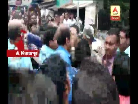 At North Dinajpur Raigunge SDO beaten by Vote workers on question of security