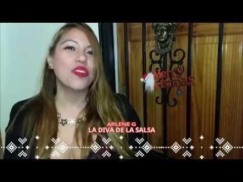 ENTORNO LATINO NY   SALUDO NAVIDEÑO ARLENE G LA DIVA DE LA SALSA