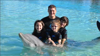 Hanging with Dolphins in the Bahamas! (WK 207.3) | Bratayley