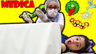 Mamãe é medica por um dia e salva a Heloísa  ♥ History of washing hands