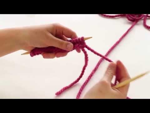 How to Knit: Slip Slip Knit - SSK