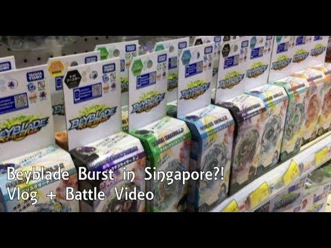 [Cardfighters Trys] Beyblade Burst Vlog + Battle Video!!