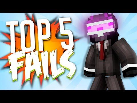 TOP 5 FAILS EN MINECRAFT CON TRIPLE FAIL!! | SEMANA 5