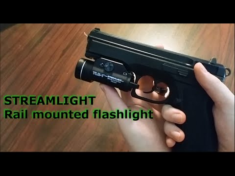 Streamlight 69110 TLR-1 C4 LED Rail Mounted Flashlight