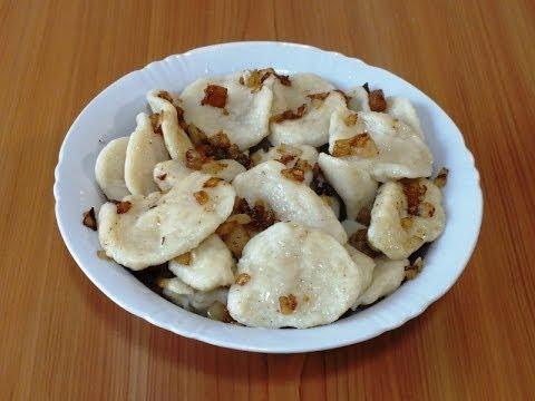 Полтавские галушки со шкварками/Poltava dumplings with bacon