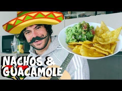 Nachos fatti in casa e Guacamole   CUCINA BUTTATA