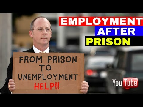 Employment After Prison Reality