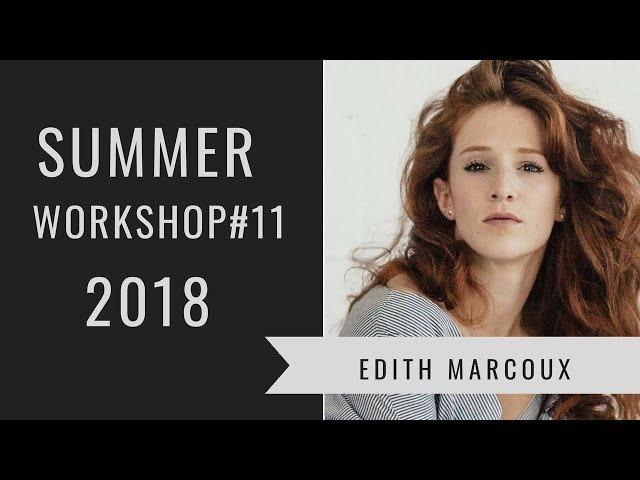 You Rock My World | Summer Workshop 2018 | Edit Collin-Marcoux