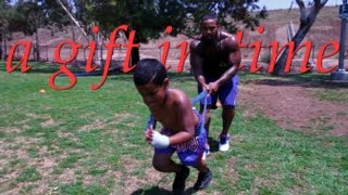 "James ""The Beast"" Wilson,  Father & son Training"