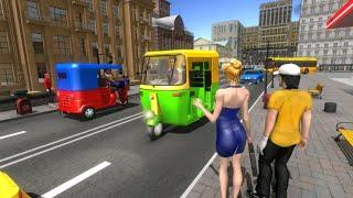 Modern Tuk Tuk Auto Rickshaw : Free Driving games Pro screenshot 4