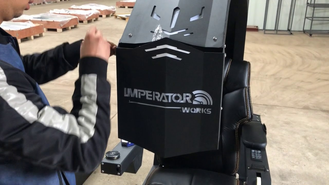 Imperator Works Gaming Chair Target Armchair Slipcover Iw R1 Install Video Youtube