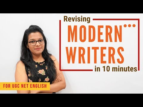 Revising Essential Modern Writers & Works (For UGC NET English)