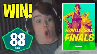 Mongraal Wins Fortnite Gauntlet Solo Finals and Gets 88 Points (INSANE ENDING)