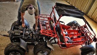 Building Double Engine Go-Kart...