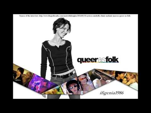 Michelle Clunie  on Air With Douglas  January 30, 2014 QAF reunion s