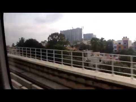 Bangalore Metro (Namma Metro) Sampige Road to Peenya Industry Full Coverage