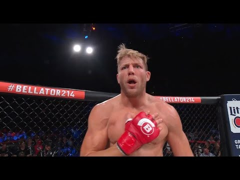 Bellator 214: Jake Hager - Submission Finish and Post Fight Interview