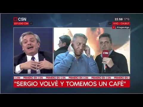 En vivo, Alberto Fernández invitó a Sergio Massa a tomar un café