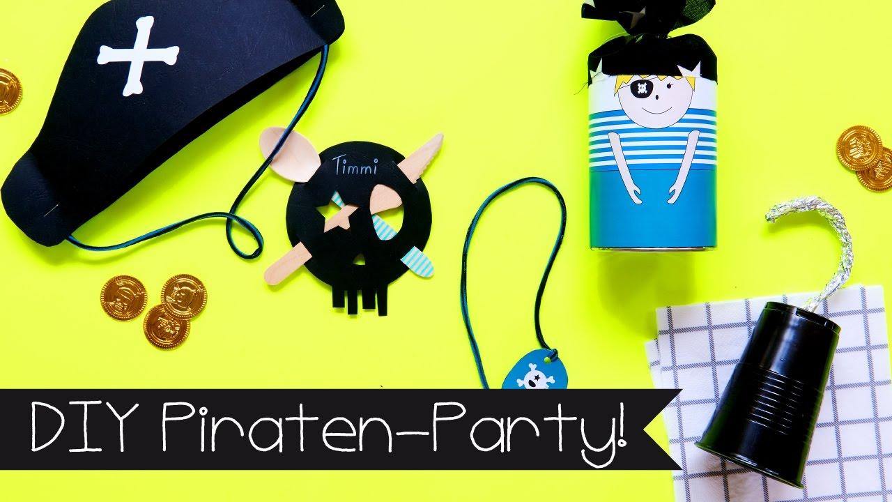 Diy Basteln Mit Kindern I Piraten Party Partydeko