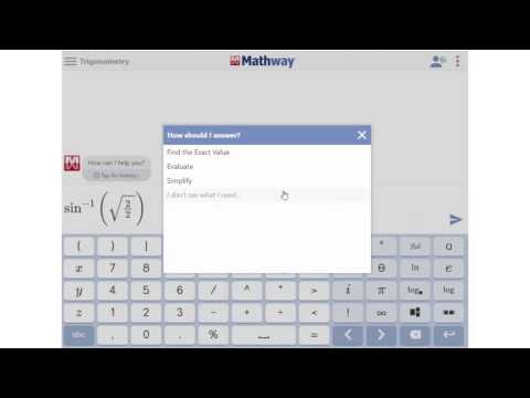 How to Find Sine, Cosine, and Tangent - YouTube Mathway Cos on
