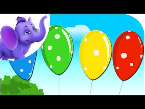 Classic Rhymes from Appu Series - Nursery Rhyme - Pretty Balloons Travel Video