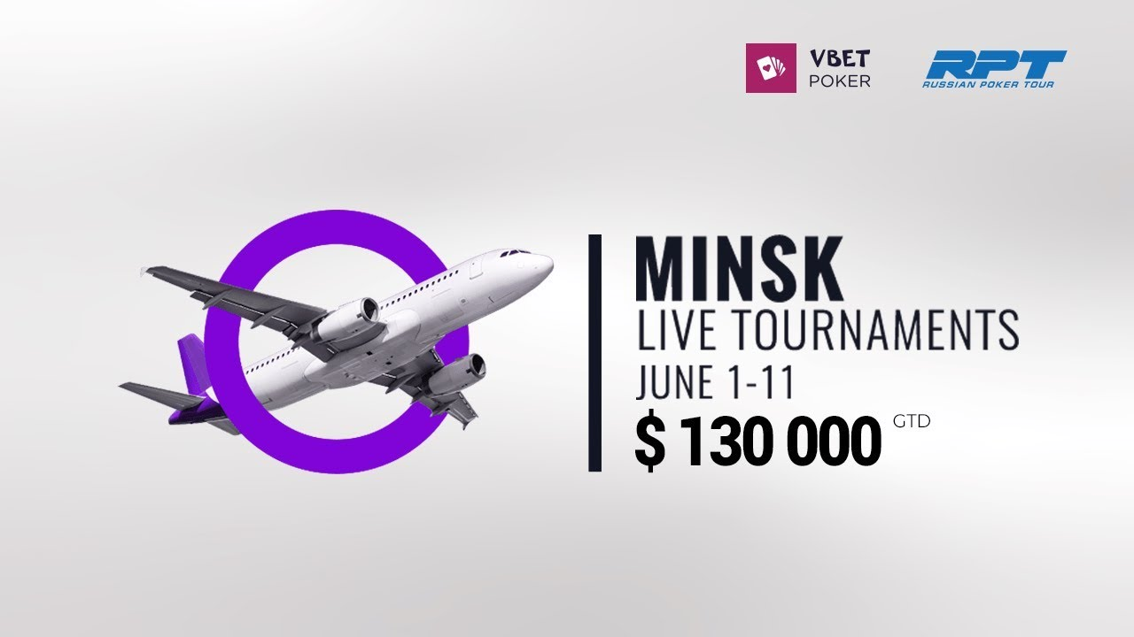 Live Poker Tournaments in Minsk